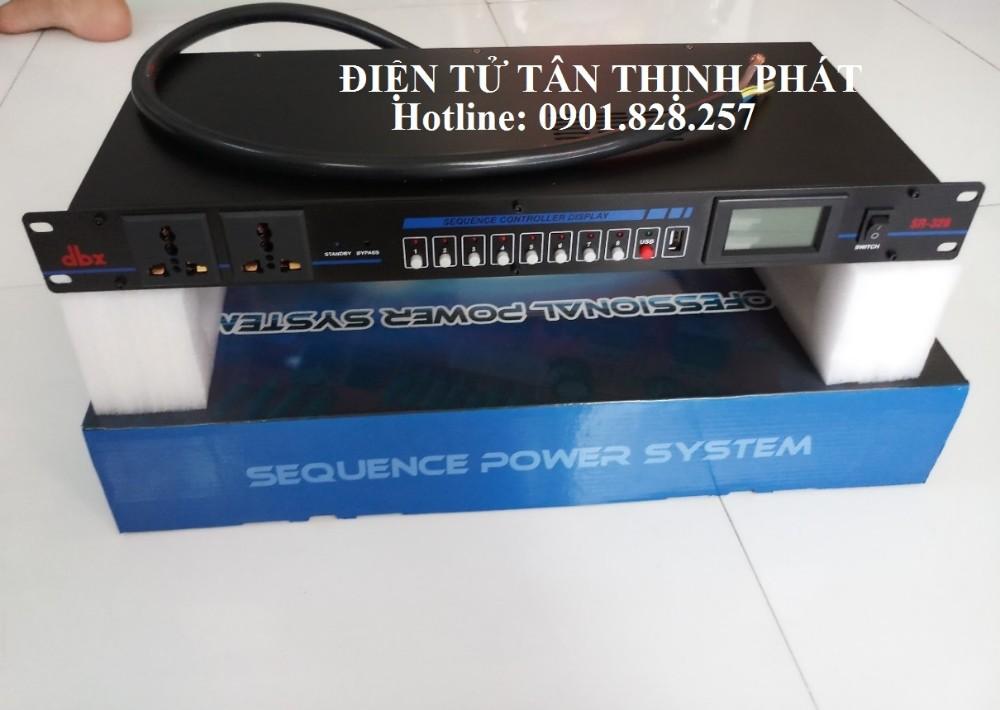 Thiết bị quản lý nguồn điện dbx 10 cổng
