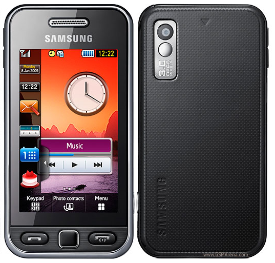 application coran pour samsung s5230