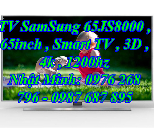 TV SamSung 65JS8000 , 65inch , Smart TV , 3D , 4K