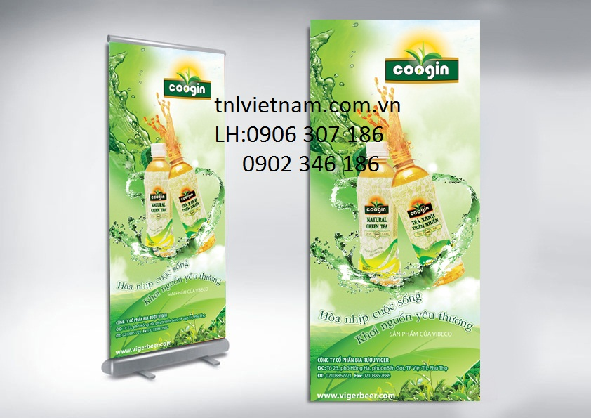 Sản Xuất Standee, Standee Khung Sắt