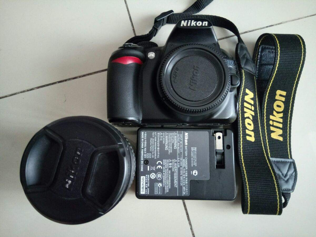 nikon d3100 how to set iso