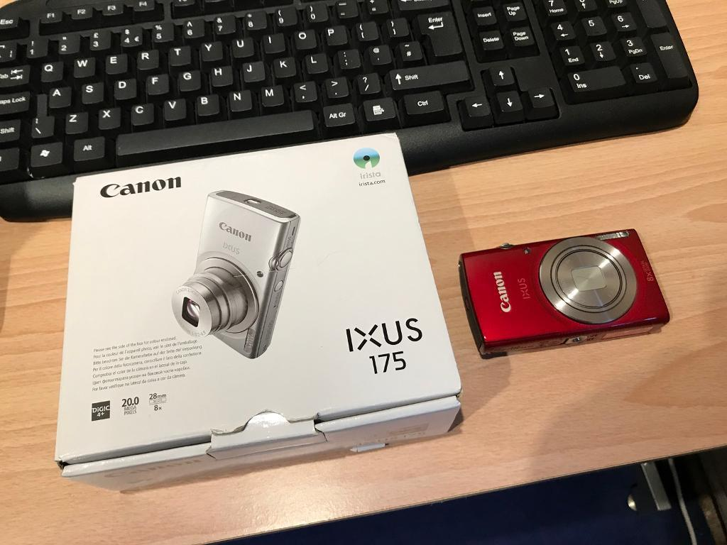 Ixus 175 Canon Red My Nh S Silver