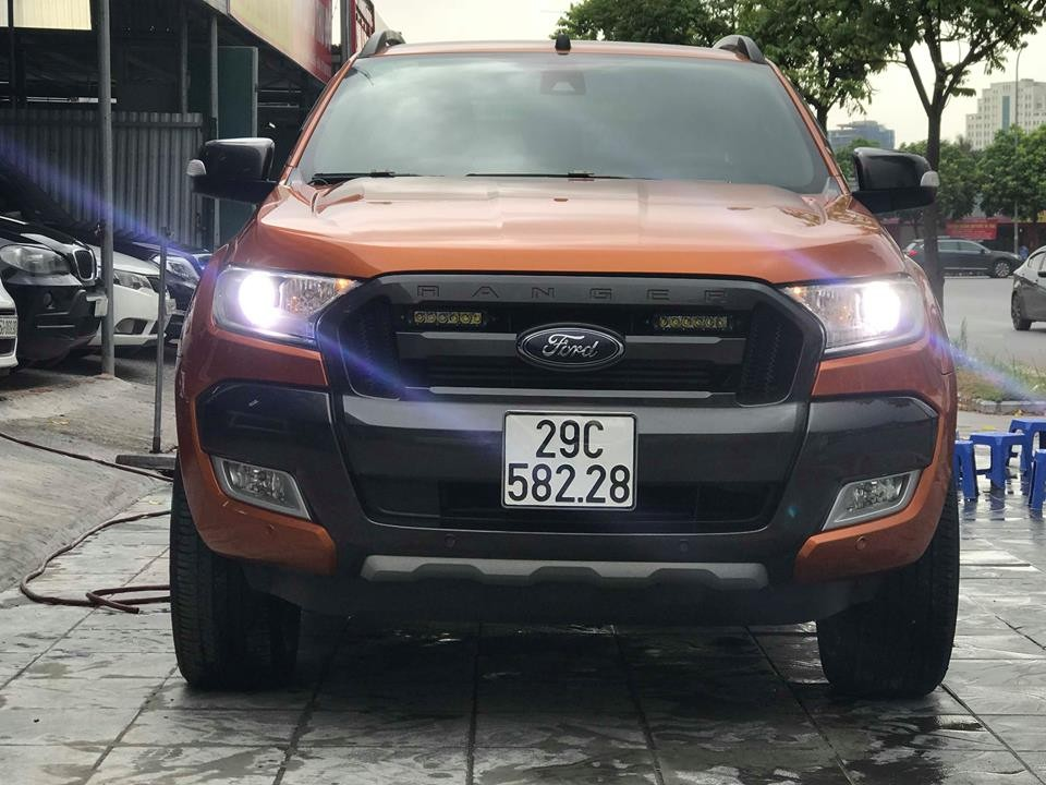 Xe ford ranger wildtrak 3.2l 4x4 at 2016