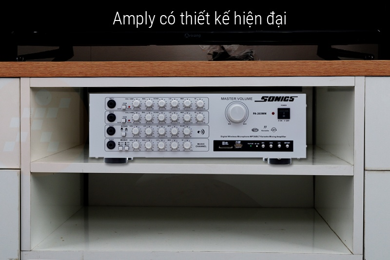 Thiết kế Amply