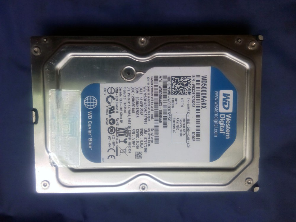 Ổ cứng HDD 500Gb SATA gia re_size 3.5-7200rpm
