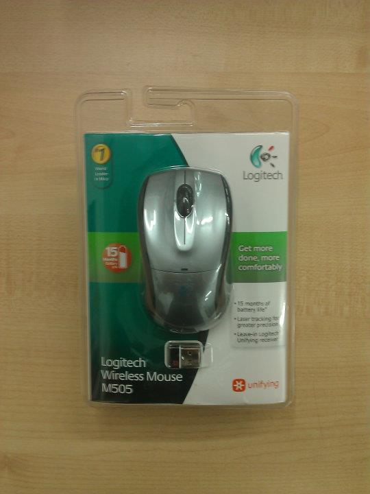 how to connect logitech m505 mouse