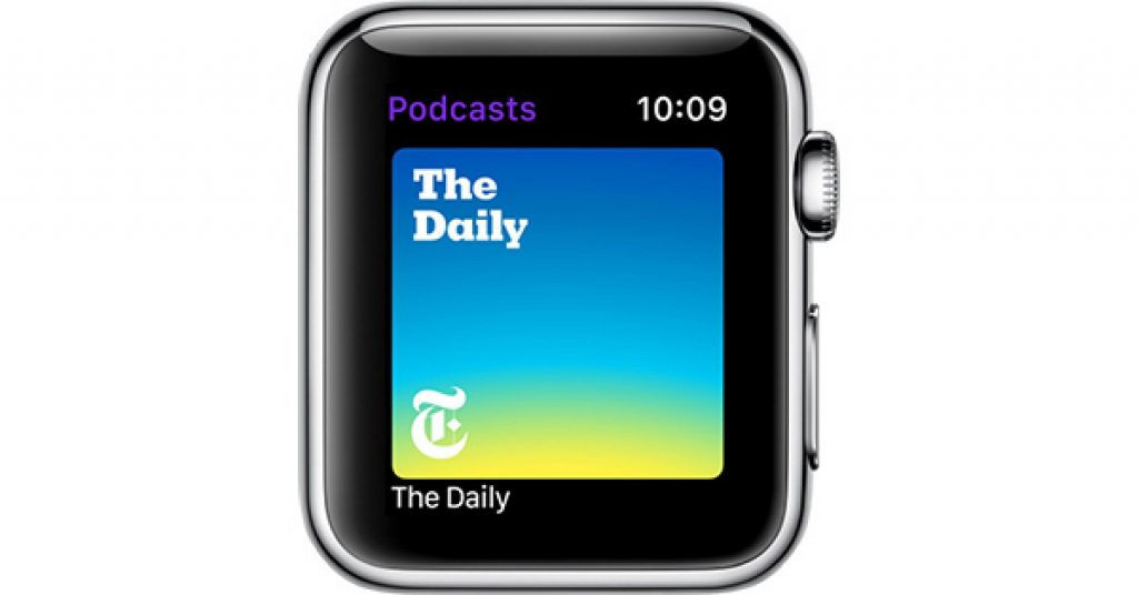 watchos5podcasts
