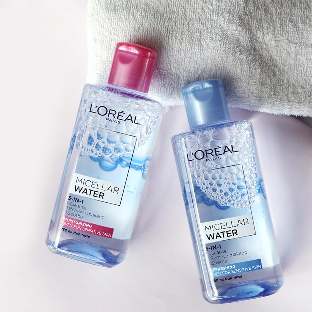 Image result for L'ORÉAL Micellar Water 3 In 1