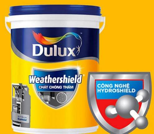 Image result for sơn chống thấm dulux