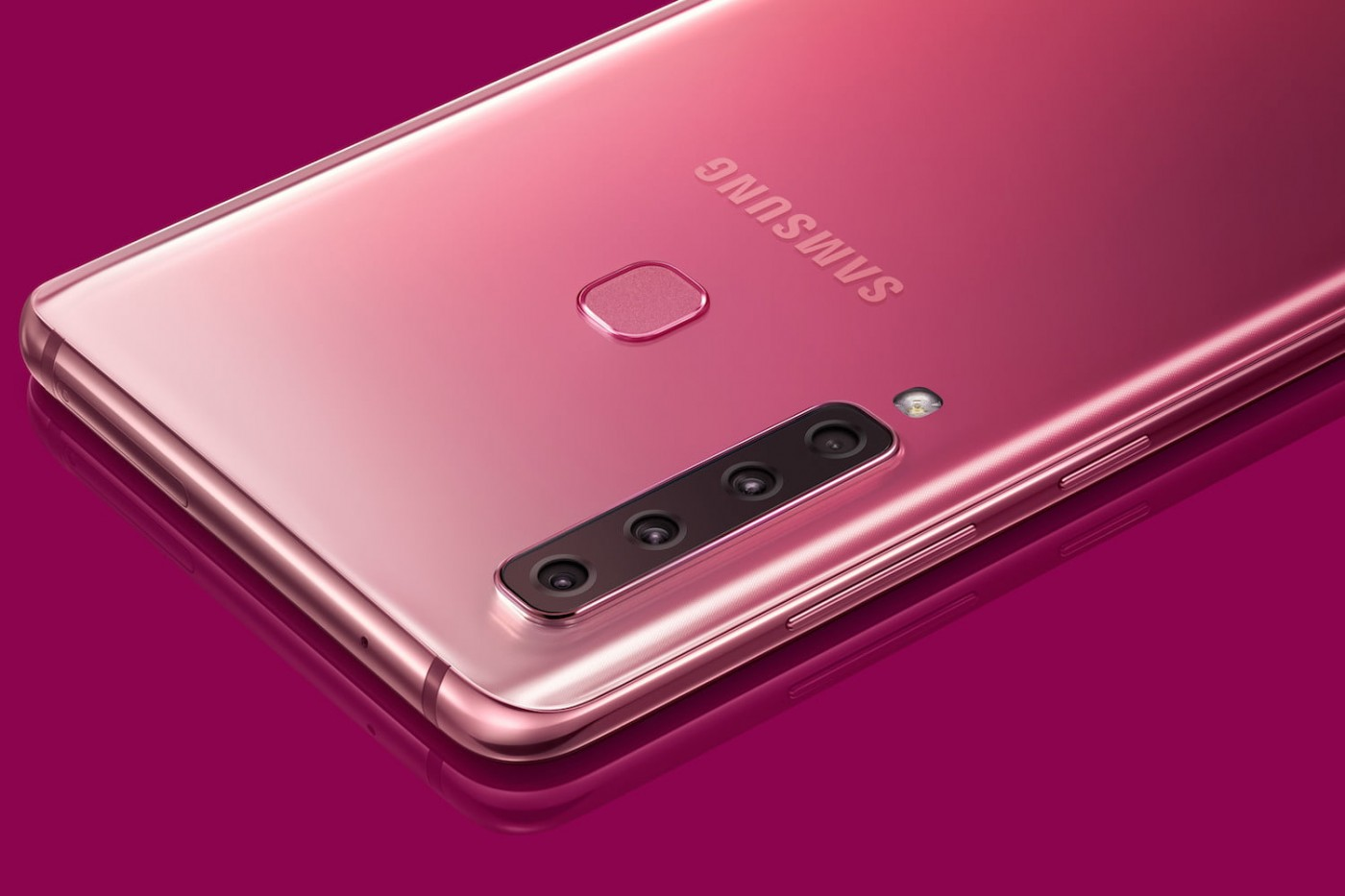 Image result for galaxy a9 pink