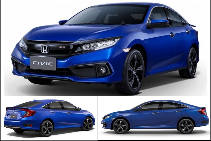 xe Honda Civic facelift | news.otos.vn