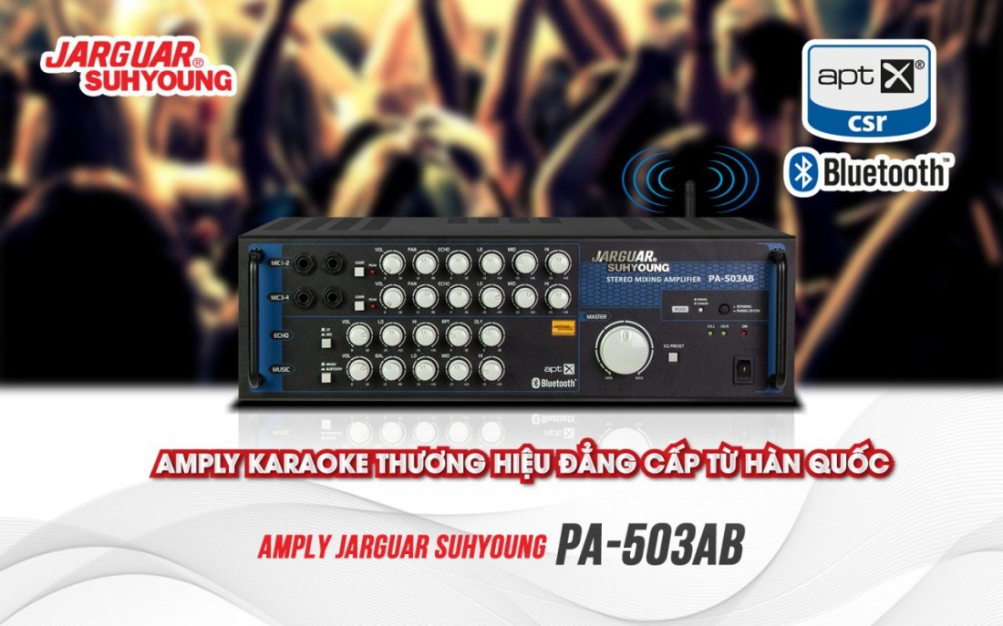 AMPLY JARGUAR SUHYOUNG PA-503AB (Ảnh 1)