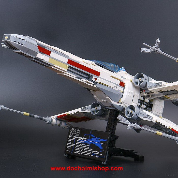 Lắp ráp Star Wars Lepin 05039 Red Five X-Wing Starfighter (Ảnh 3)