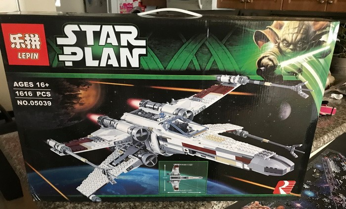 Lắp ráp Star Wars Lepin 05039 Red Five X-Wing Starfighter (Ảnh 7)