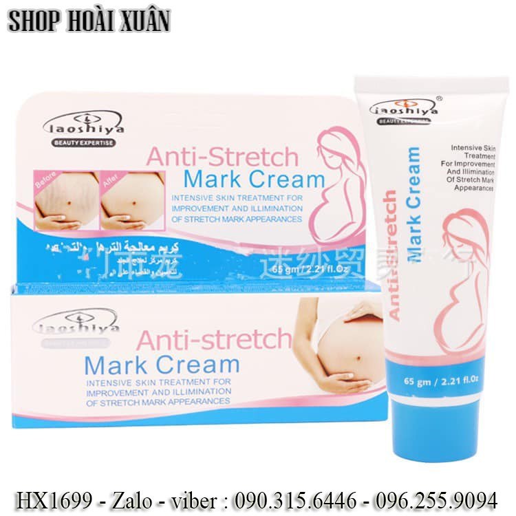 Kem trị rạn da laoshiya anti stretch marsk cream hx1699