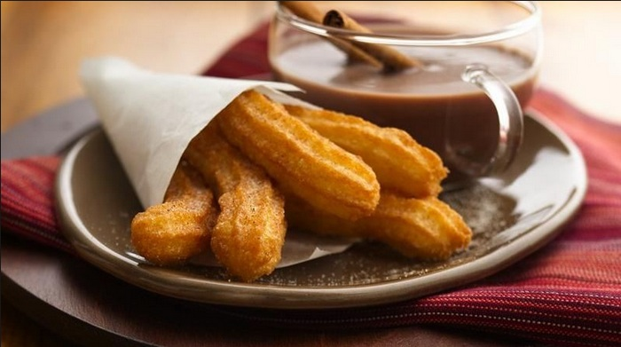 Image result for Churros - Tây Ban Nha