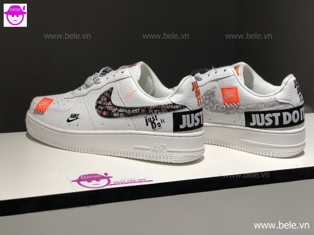 Giày Nike Air Force 1 Just Do It (Ảnh 3)