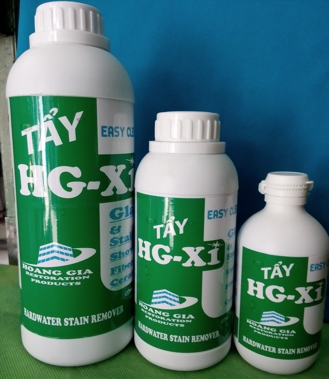 Dung dịch tẩy ố kính xe HG X1 HARDWATER STAIN REMOVER for Car 250 ML (Ảnh 2)