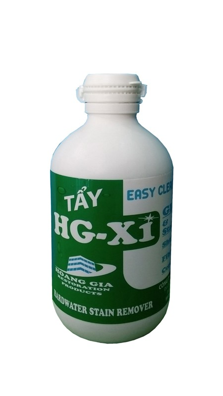 Dung dịch tẩy ố kính xe HG X1 HARDWATER STAIN REMOVER for Car 250 ML (Ảnh 1)