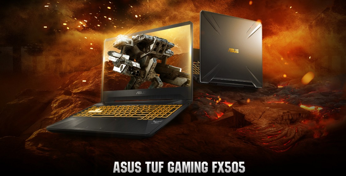 Laptop Asus TUF Gaming FX505DU-AL070T (AMD R7-3750H/ GTX 1660Ti 6GB/ Win10) (Ảnh 1)