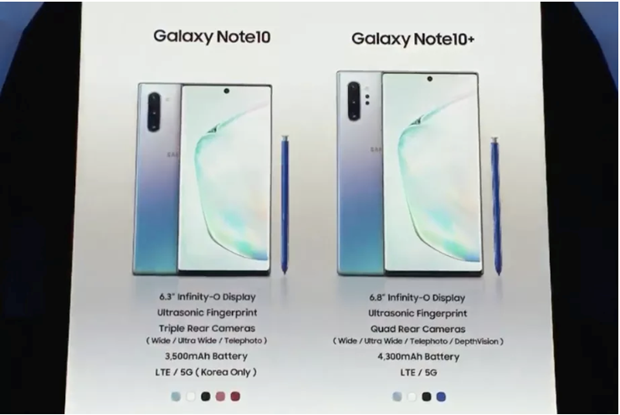 Galaxy Note 10 5G: Samsung tiep tuc noi rong khoang cach voi Huawei hinh anh 2