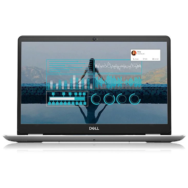 Laptop Dell Inspiron 5584 CXGR01 Core i5 8265U 1.6GHz up to 3.9GHz, 6MB  15.6-inch FHD (1920 x 1080) (Silver) (Ảnh 1)
