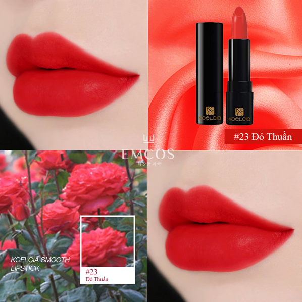 son koelcia smooth lipstick đánh giá, son smooth matte lipstick, son smooth lipstick, smooth matte lipstick, smooth lipstick koelcia, giá son smooth matte lipstick, review son smooth matte lipstick, son koelcia, koelcia review, màu son smooth matte lipstick