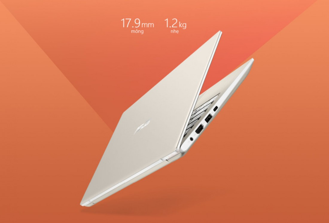Asus Vivobook S13 S330FA-EY009T thiết kế