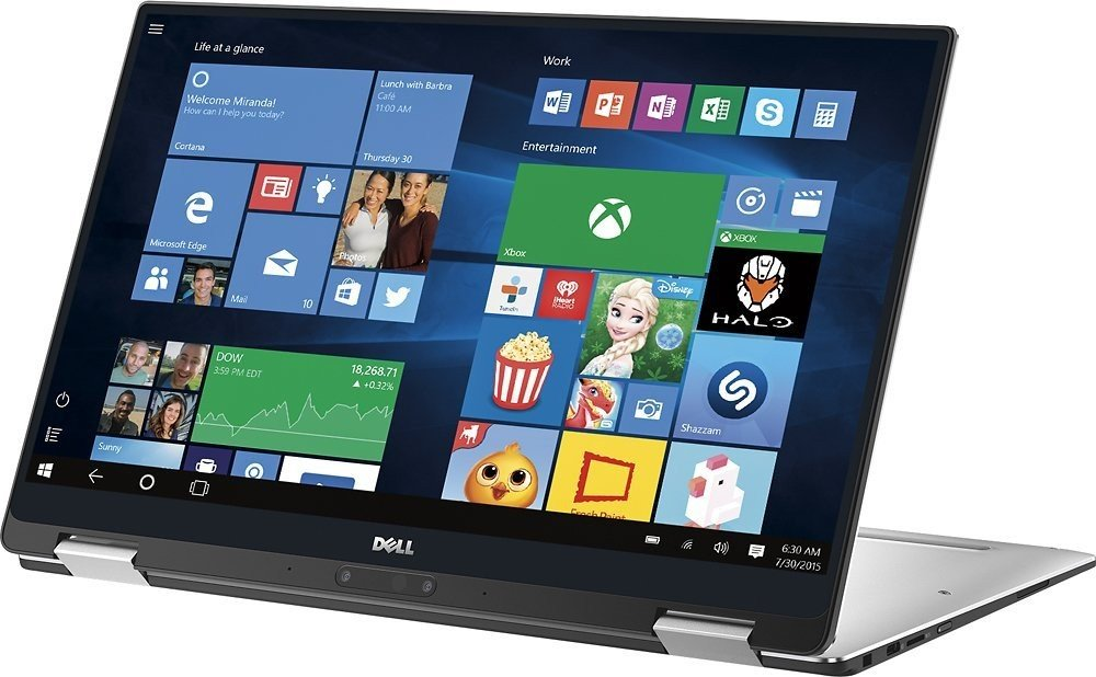 DELL XPS13 9365 i7-7Y75 16G 256G M2 Touch FHD Silver