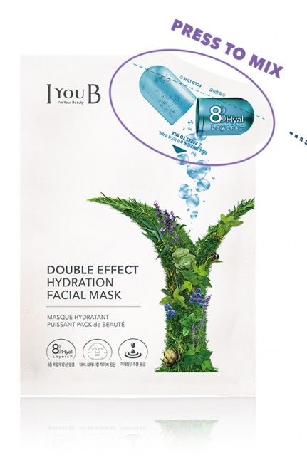 Mặt nạ  IYOUB Double effect Hydration facial mask (Ảnh 7)