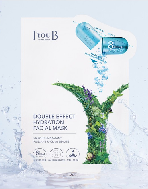 Mặt nạ  IYOUB Double effect Hydration facial mask (Ảnh 8)