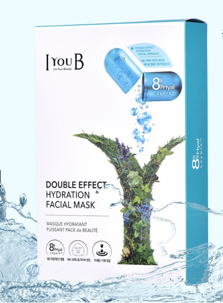 Mặt nạ  IYOUB Double effect Hydration facial mask (Ảnh 6)