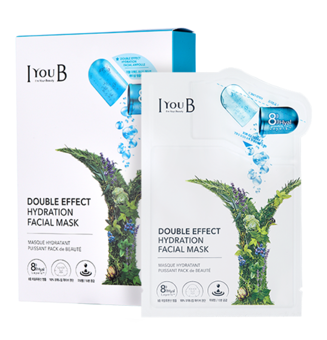 Mặt nạ  IYOUB Double effect Hydration facial mask (Ảnh 1)