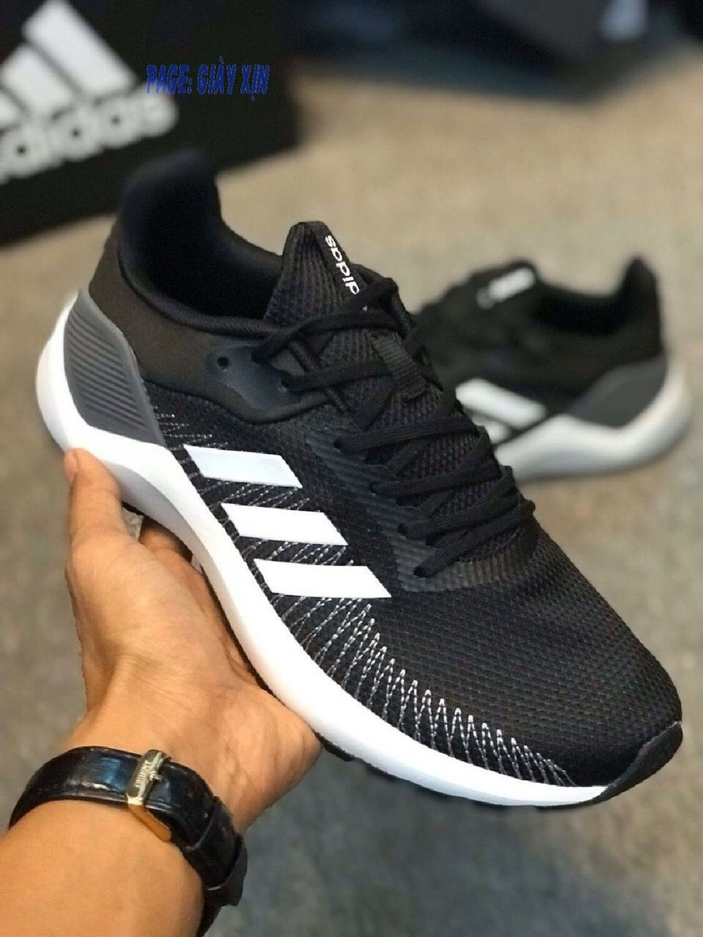 Giày thể thao ADIDAS ALPHABOUNCE CLOUDFOAM (Ảnh 1)