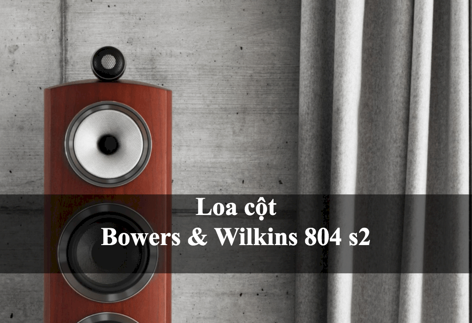 Loa B&W Bowers & Wilkins 804 D3 GLOSS BLACK (Ảnh 1)