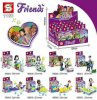 Lắp ráp SY1186 Set 8 Minifigures phim Friends_small 2
