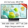 Ti Vi Led Sony chính hãng 48R470B full HD, 100hz model hot 2014