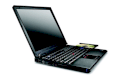 IBM Lenovo T61  (Intel Core 2 Duo T8300 2.4GHz, RAM 1GB, HDD 80GB, VGA Intel GMA X3100, 14inch, PC DOS)