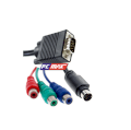 Cáp VGA to RCA Component - Svideo