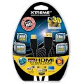 Xtreme Cables High-Speed Mini HDMI (Type C) Male to HDMI (Type A) - 6'