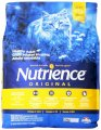 Nutrience Original Healthy Adult Cat Food, 18-Pounds, Chicken Meal with Brown Rice Recipe