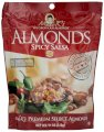 Madi K's Spicy Salsa Almonds, 11-Ounce Pouches (Pack of 4)