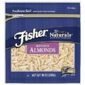 Fisher, Chef's Naturals, Slivered Almonds, 10oz Pouch (Pack of 3)