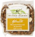 Nunes Farms Almonds, Roasted and Unsalted, 5 Ounce