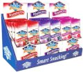 Blue Diamond Almonds - Fruit Flavored Variety FLavors- Strawberry, Blueberry, and Raspberry (Box of 36 / 1.5-Ounce Bags w Counter Display)