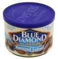Blue Diamond Almonds Roasted Salted - Can 6oz