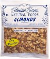 Almonds, Roasted, Chopped, Unsalted 2.5oz (6 Pack)