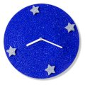 Crysto Blue Sapphire Crystal Dial Wall Clock CR726DE25TPMINDFUR