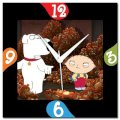 Amore Family Guy 107287 Analog Wall Clock (Multicolor)