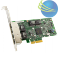 Broadcom 5719 Quad Port 1Gb Network Interface Card 430-4425 (FH) , 430-4426 (LP)